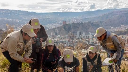 Ciencia ciudadana en La Paz – WCS