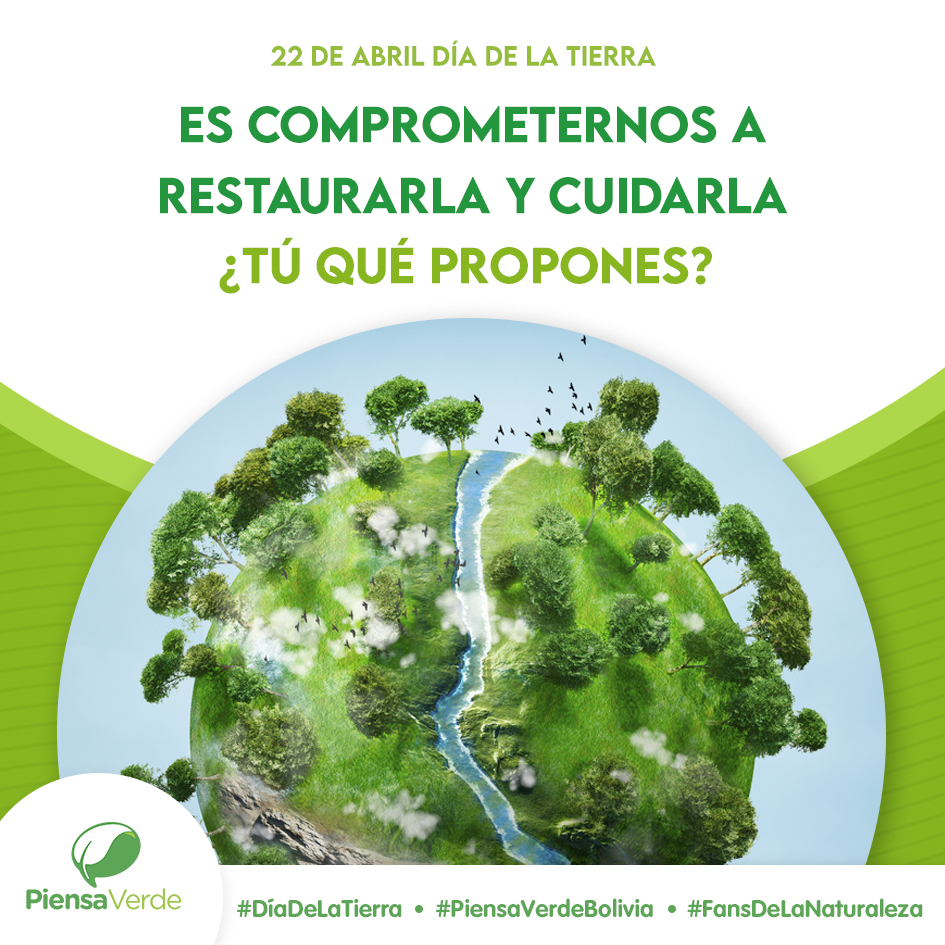 """""""Restaurar nuestra tierra"""" – Día internacional de la tierra 2021"""