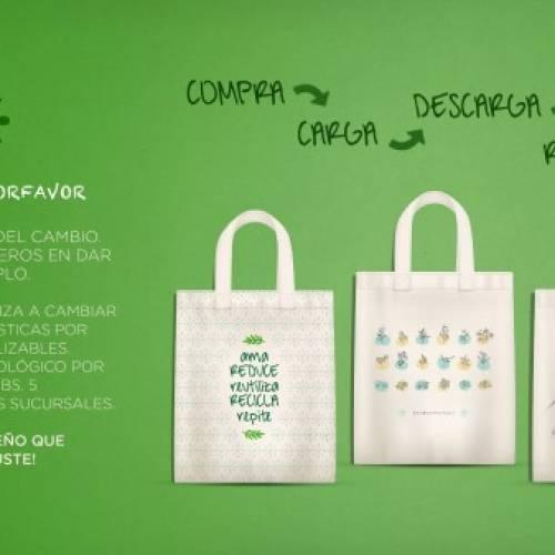 Proyecto: #SinBolsaPorFavor – Farmacorp